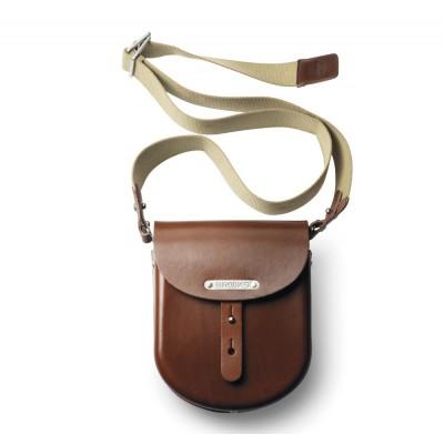 B1 наплічна сумка із твердої шкіри
