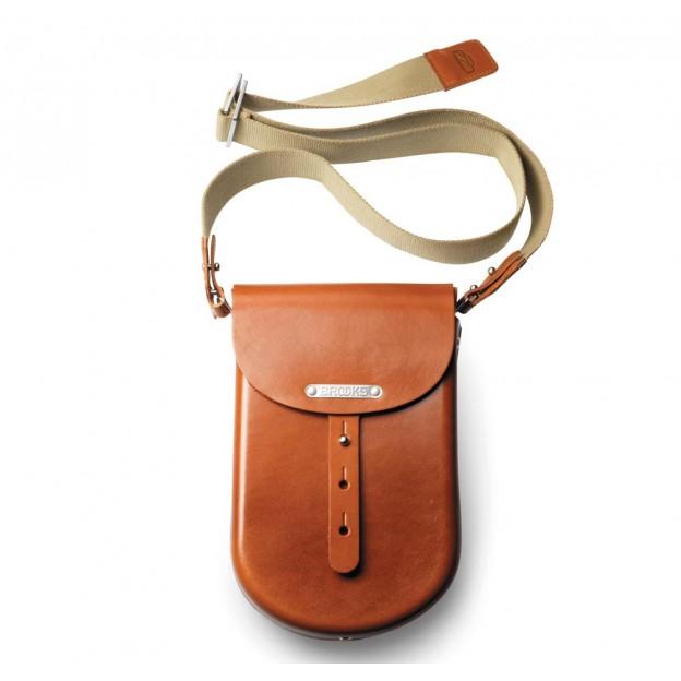 B2 наплічна сумка із твердої шкіри