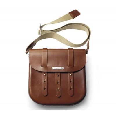 B3 наплічна сумка з твердої шкіри
