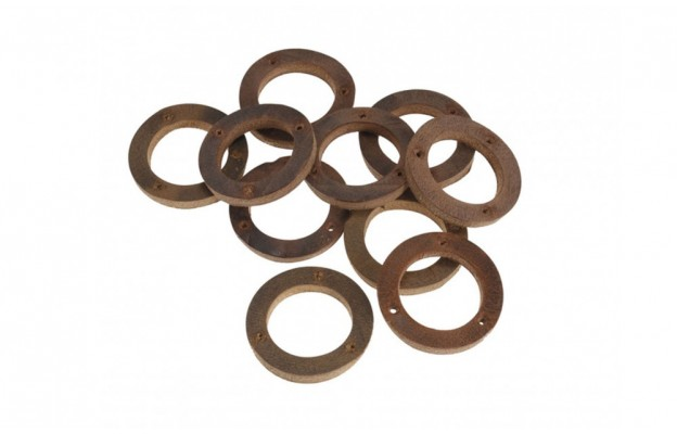 Aged Leather Ring for Handlebar Grip (10 pieces) - BYB 334
