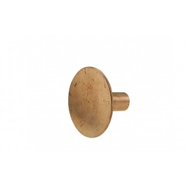 Solid Copper Rivet - Large Head (16.5 mm dia) - BYB 273