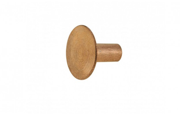 Solid Copper Rivet - Medium Head (13 mm dia) - BYB 277