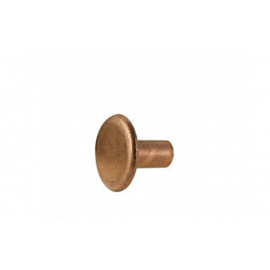 Solid Copper Rivet - Small Head (12.5 mm dia) - BYB 248