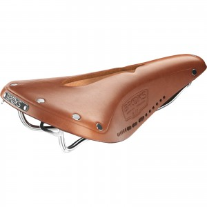 Brooks B17 Carved Honey
