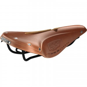 Brooks B17 Narrow Carved Honey